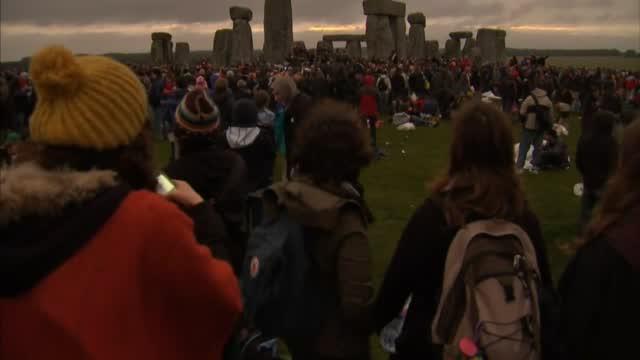 Crowds Gather At Stonehenge For Summer Solstice Despite COVID Concerns