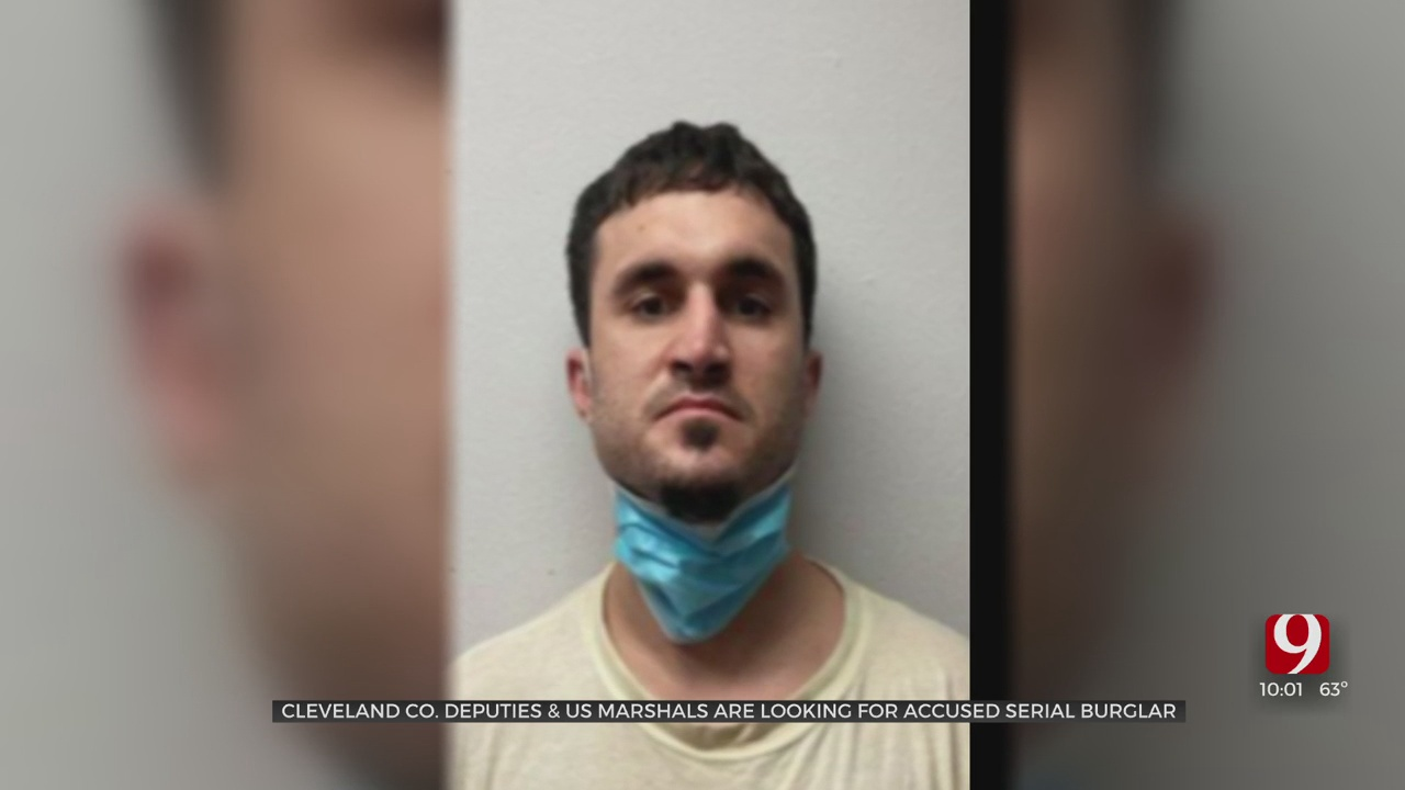 Cleveland County Deputies & US Marshals Searching For Accused Serial Burglar