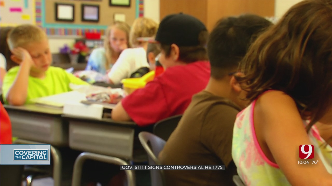 Gov. Stitt Signs Controversial Bill Impacting How Race, Gender Are Taught In Schools