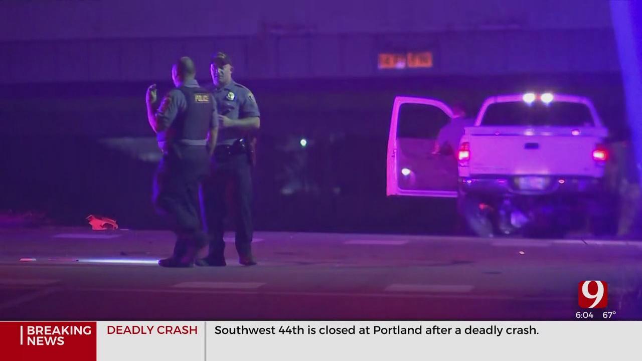 1 Killed In SW OKC Crash