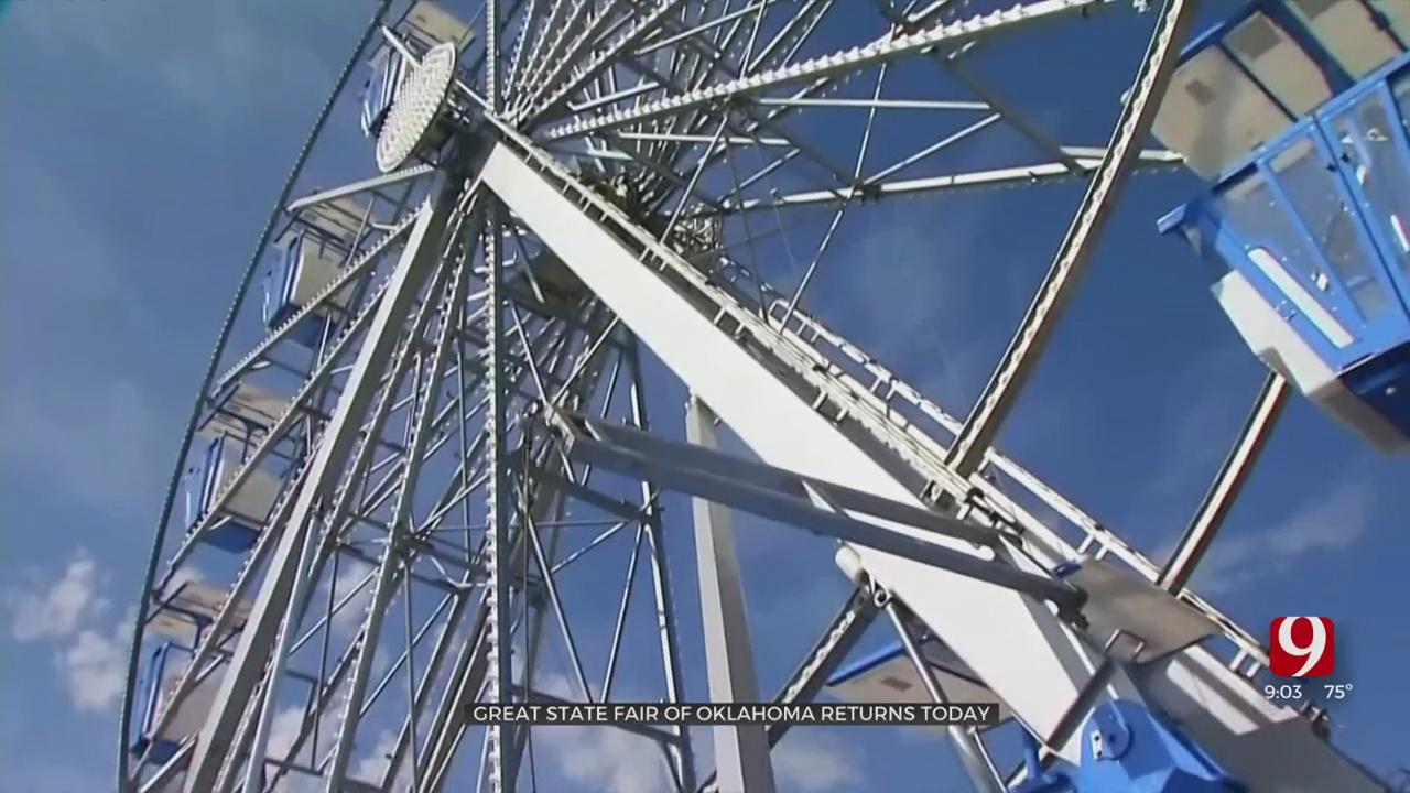 Oklahoma State Fair Kicks Off Thursday Morning