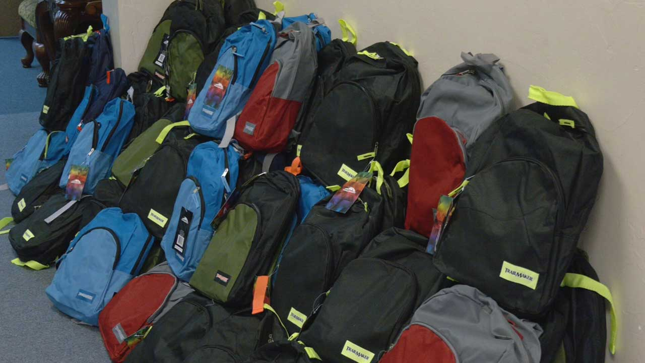 5 OKC Churches Come Together To Give School Supplies, Backpacks And More To The Communities