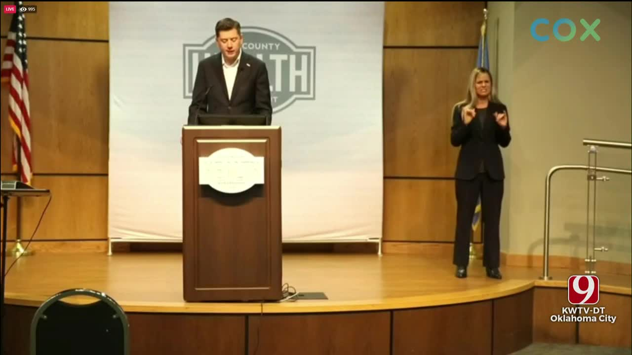 WATCH: Mayor David Holt Pleads For 10-Day Pause