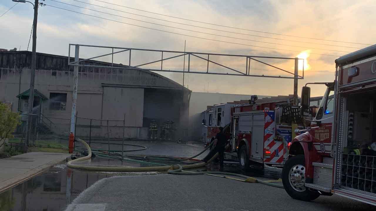 Crews Respond To 2-Alarm Commercial Fire Near Oklahoma County Jail
