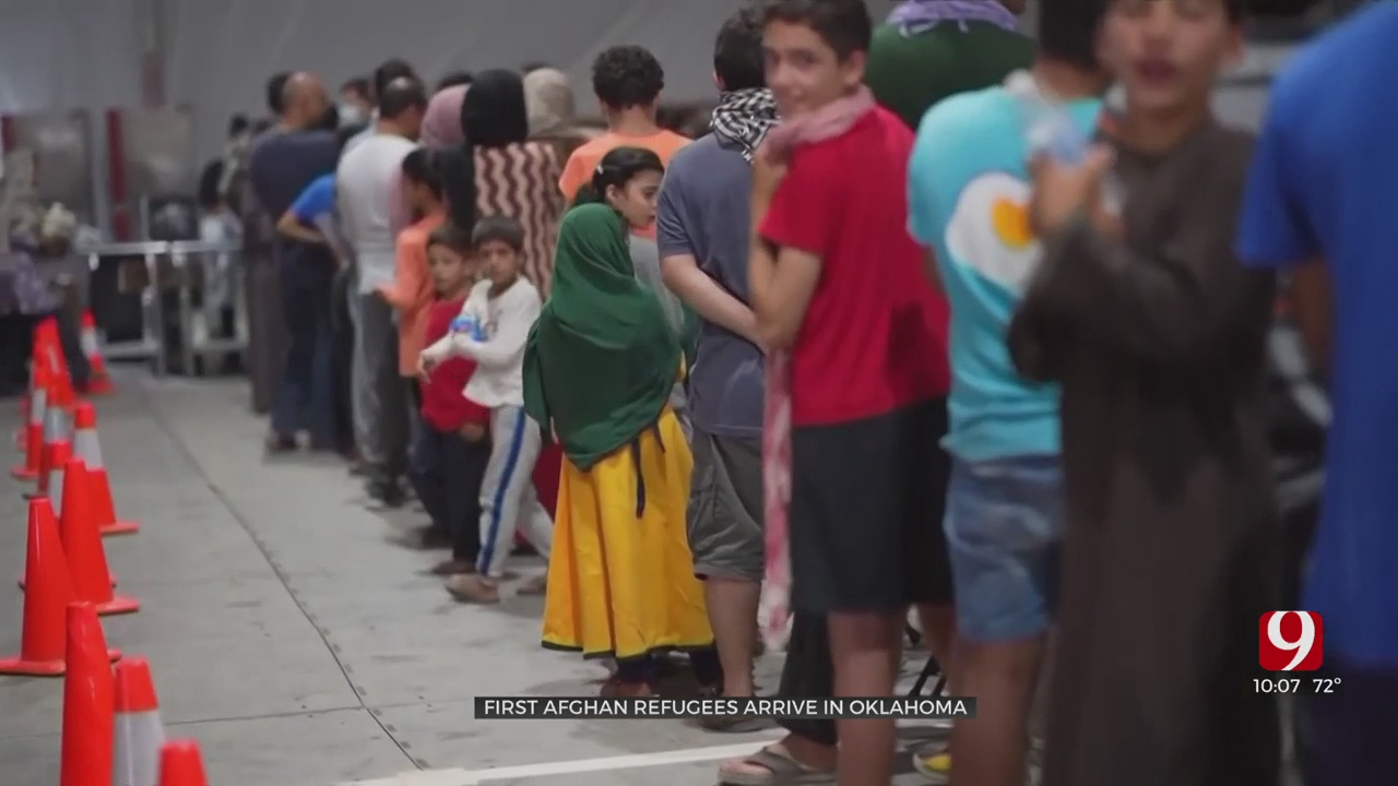 Islamic Society Of Greater Oklahoma City Prepares For Afghan Refugees