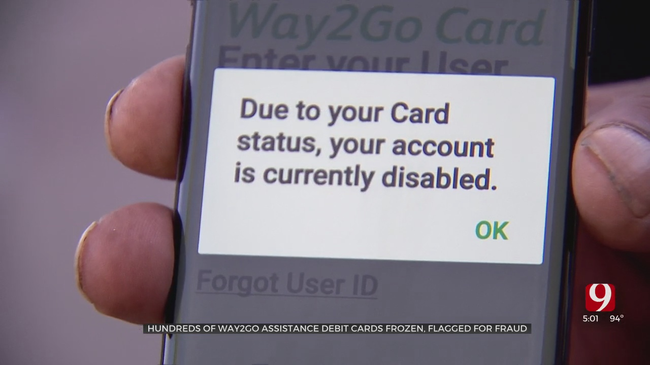 Flagged Unemployment Assistance Debit Cards Leave Claimants Waiting To Access Funds