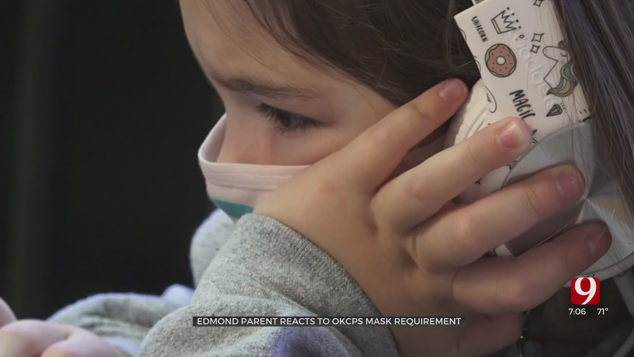 Parents Share Thoughts On OKCPS' Mask Requirement