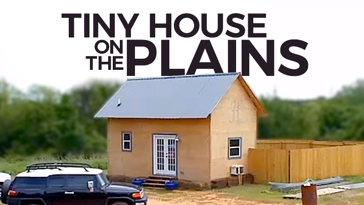 Red Dirt Diaries: Tiny House On The Plains