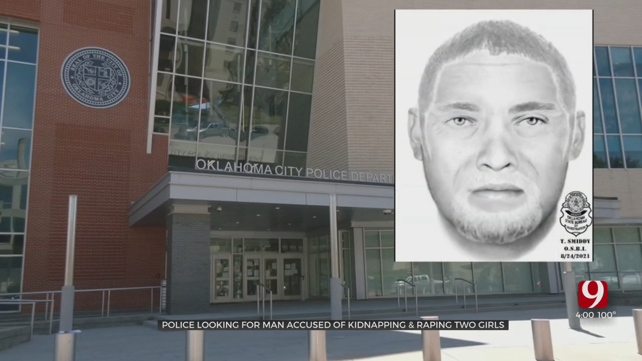 OKC Neighbors Shocked After Police Release Sketch Of Man Accused Of Abducting, Sexually Assaulting 2 Girls