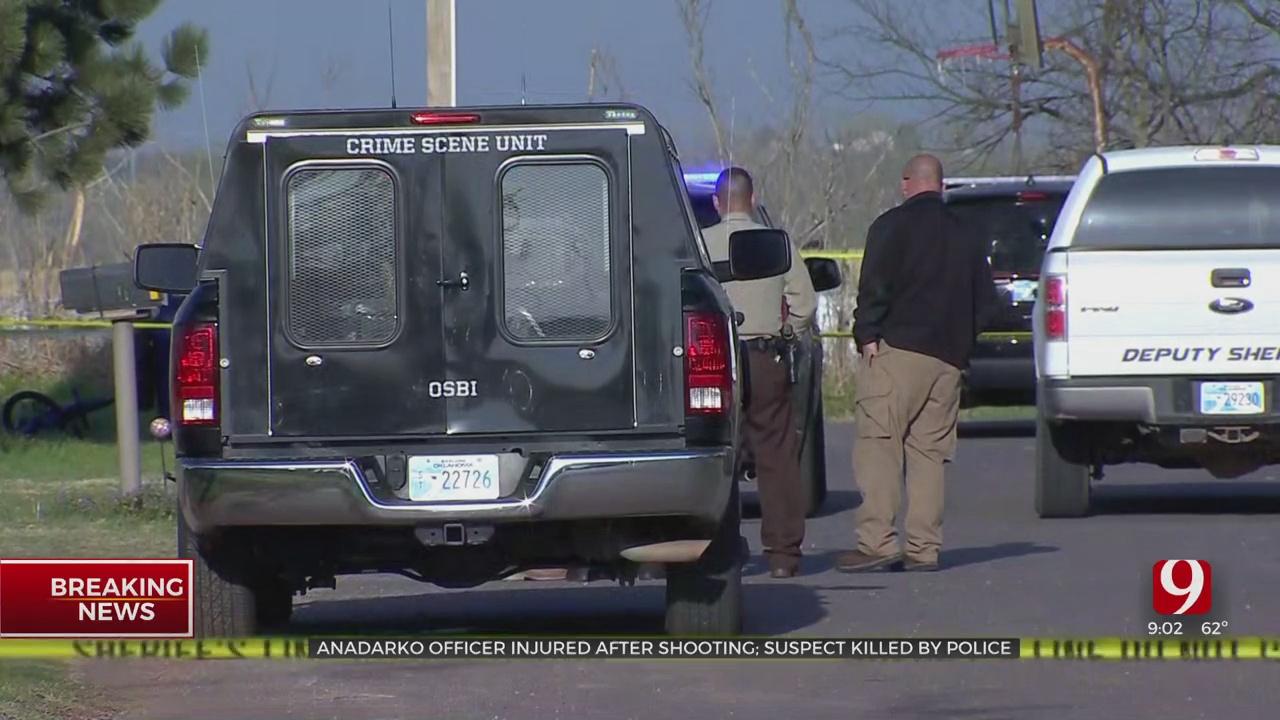 1 Dead, Officer Injured Following Shootout In Anadarko, OSBI Says