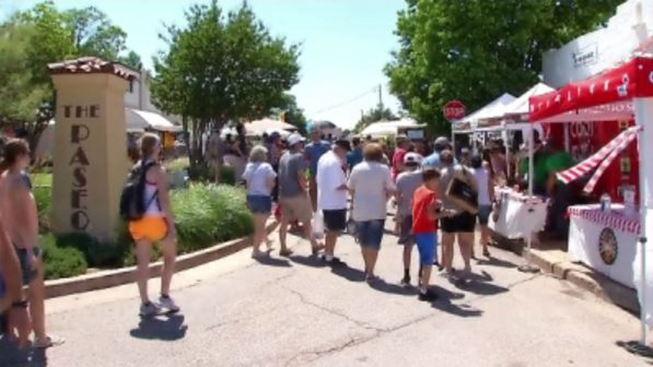 Artists Prepare To Showcase Their Work At Paseo Arts Festival