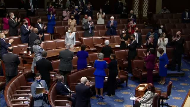 Pelosi Reelected House Speaker As New Congress Prepares To Be Sworn In