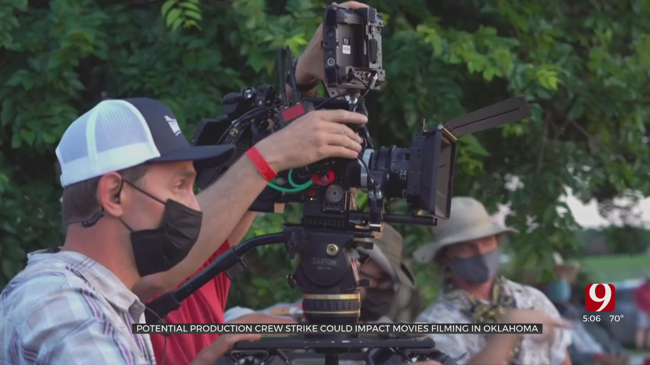 Industry Insider Shares How A Strike Can Affect Oklahoma's Film Industry