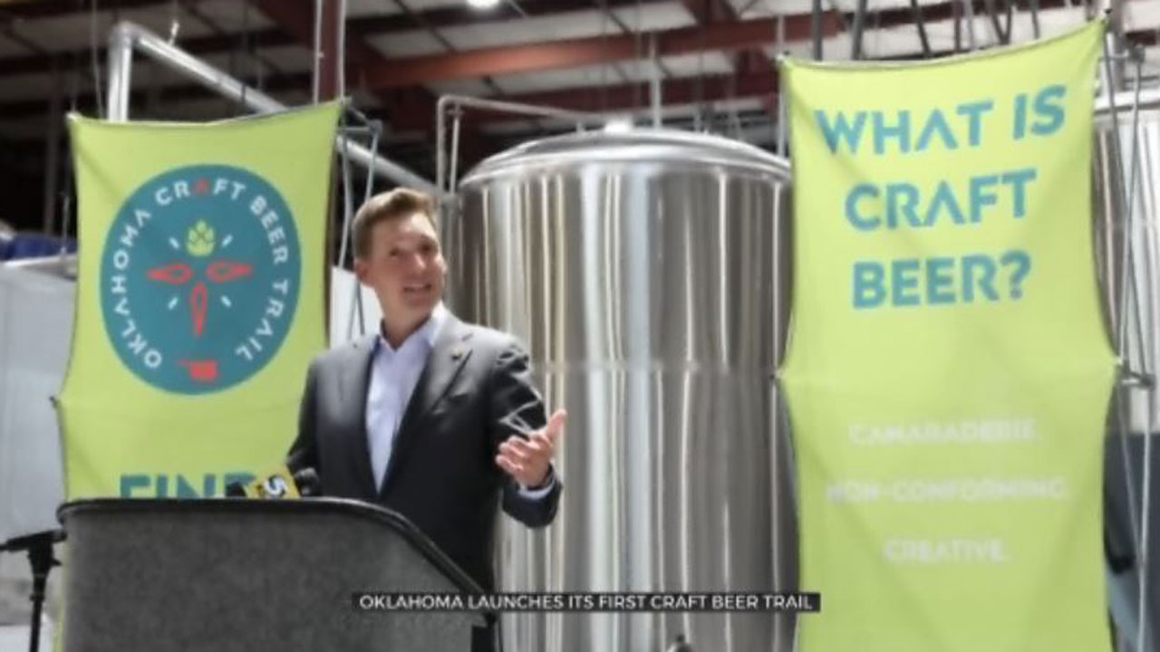 New 'Craft Beer Trail' Launches In Oklahoma