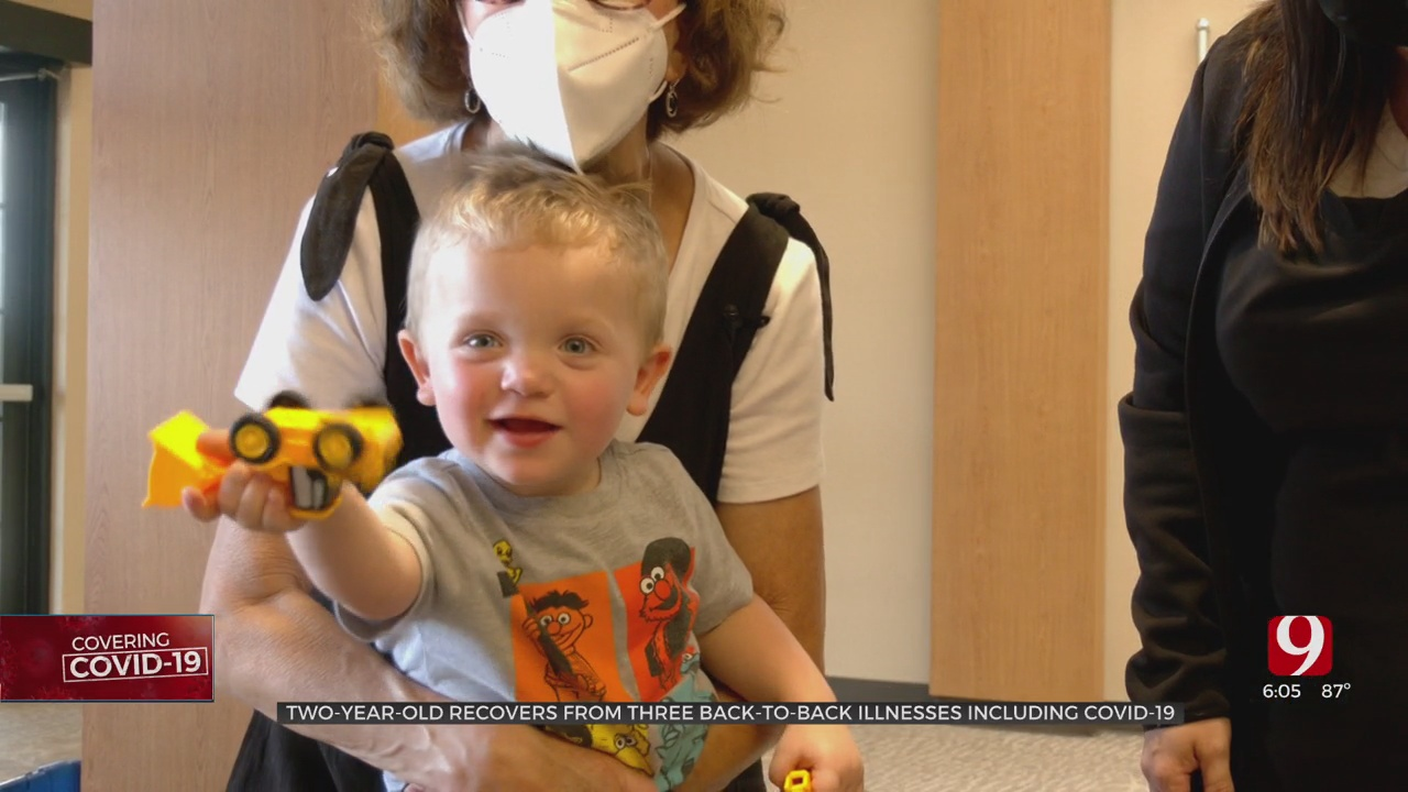 Nurse's Toddler Gets COVID, She Says She Feels 'Defeated'