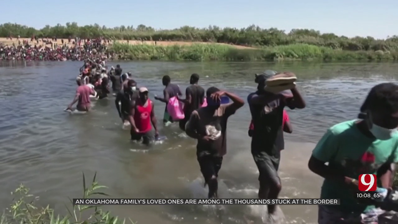 Enid Family Worries As Haitian Family Is Stuck At US-Mexico Border
