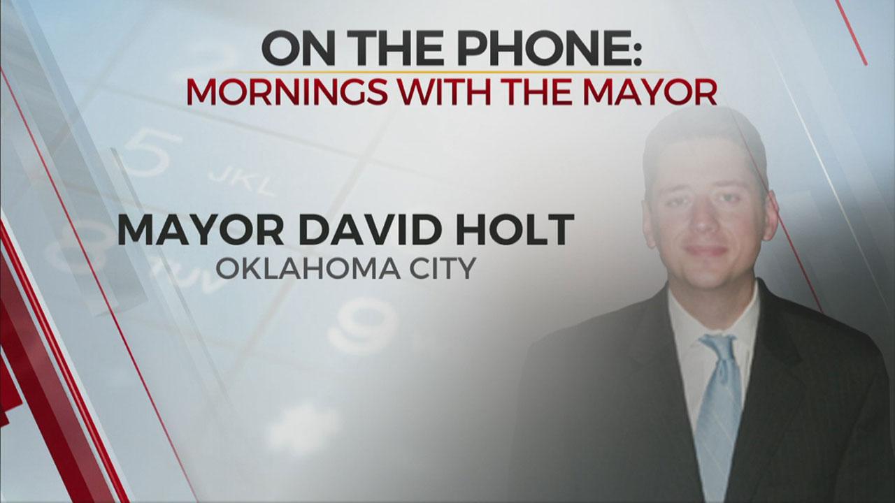 WATCH: Mayor Holt On COVID-19 Response, OKC Convention Center Ribbon Cutting