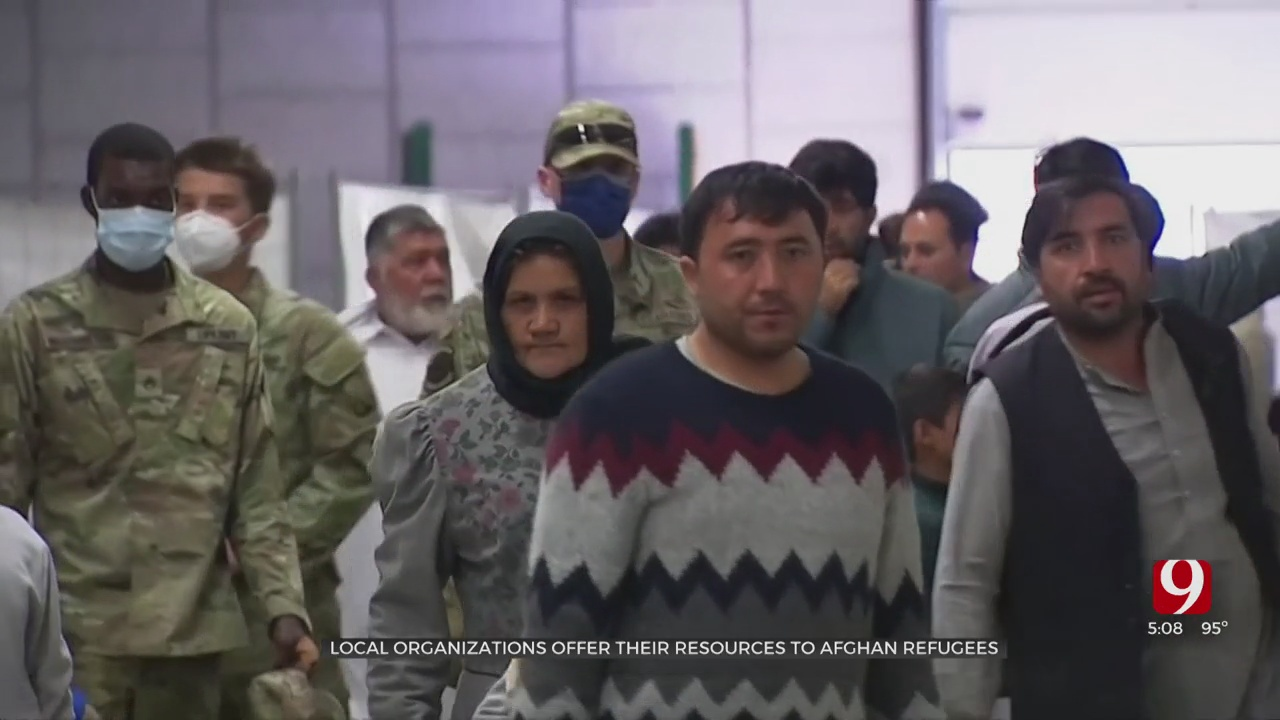 Oklahoma Organizations Offer Their Resources To Help Afghan Refugees