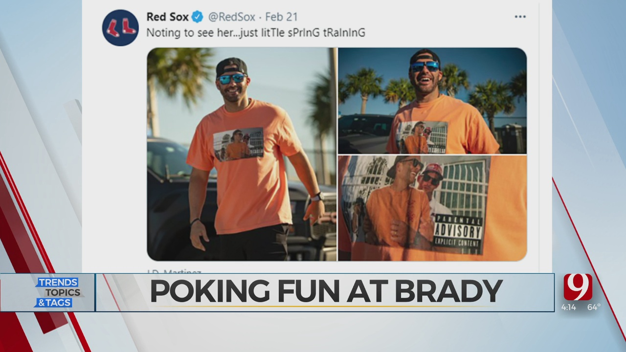 Trends, Topics & Tags: Poking Fun At Brady