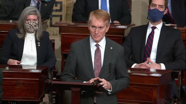 WATCH: Aide Tells Sen. Lankford Protesters Are In The Capitol Building