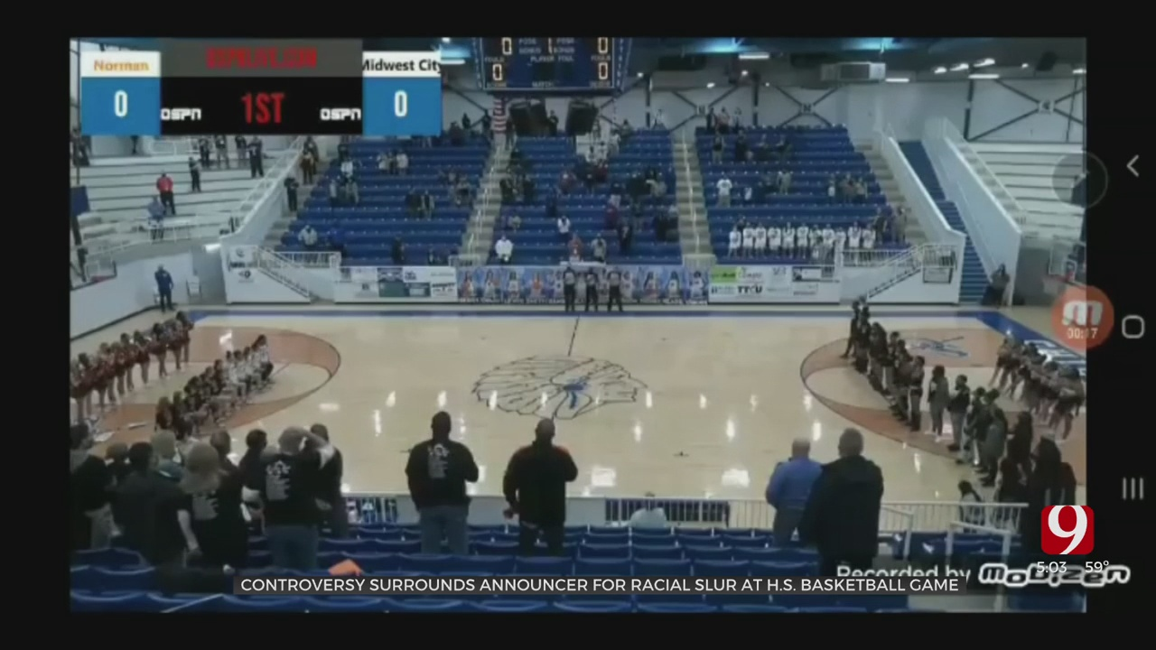 Announcer Makes Racist Comments In Response To Players Kneeling During National Anthem At Norman-MWC Girls Basketball Game
