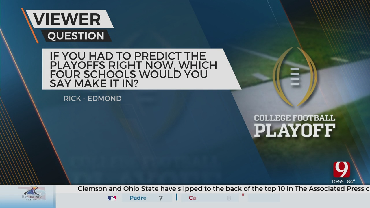Viewer Question: Playoff Predictions