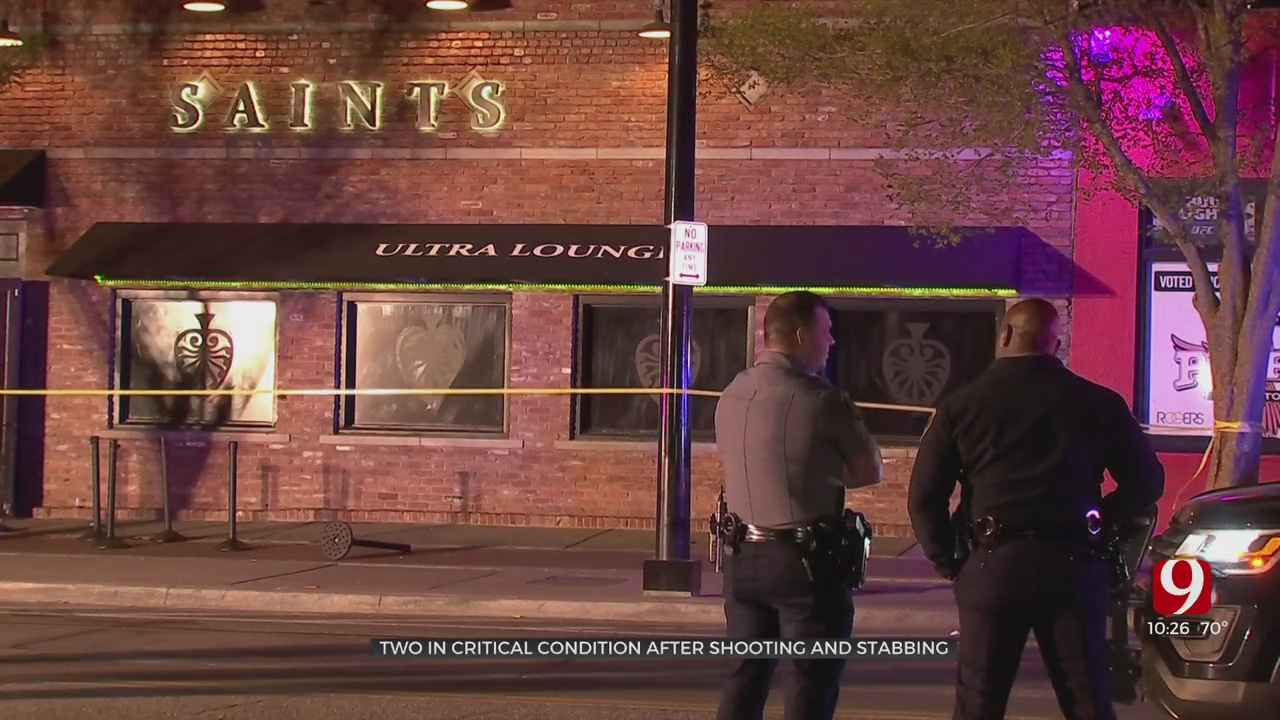 Police Said 2 In Critical Condition After Bricktown Shooting, Stabbing