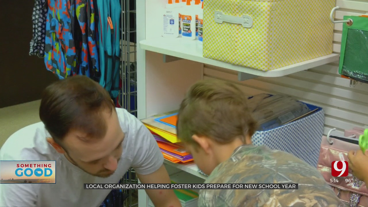 Local Organization Providing Free Back-To-School Necessities To Foster Families