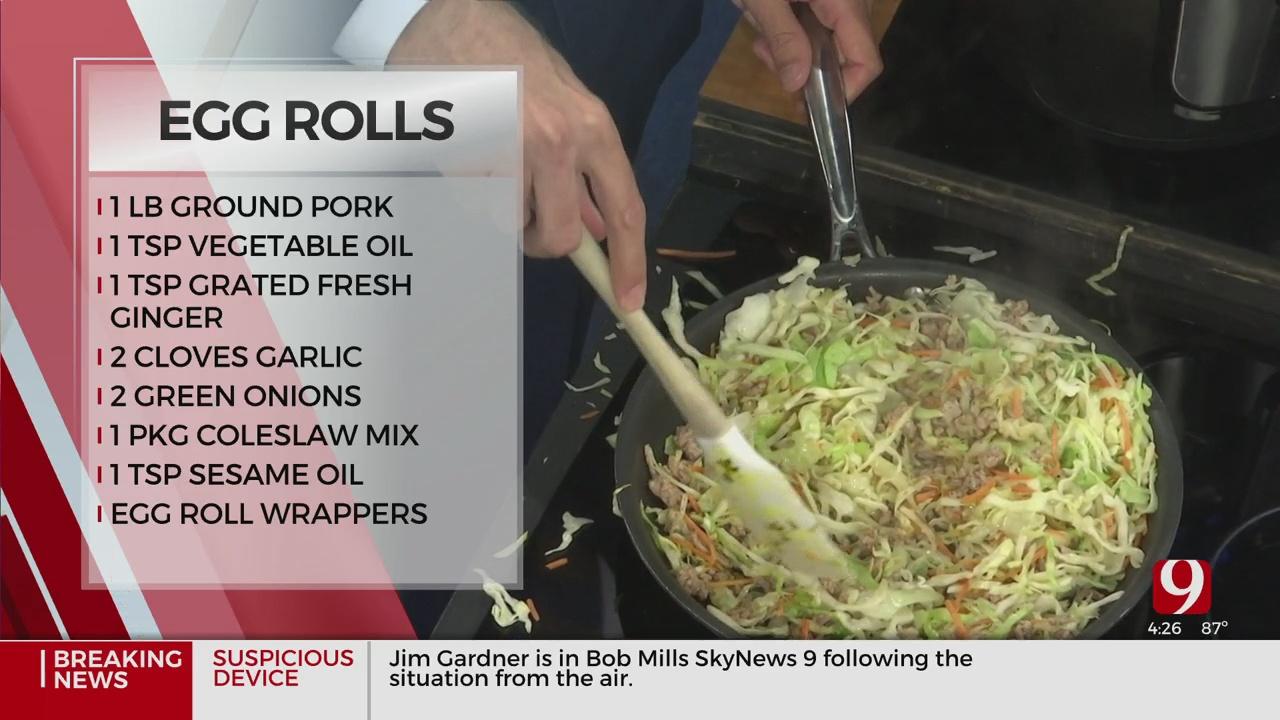 Pork Egg Rolls Part 1