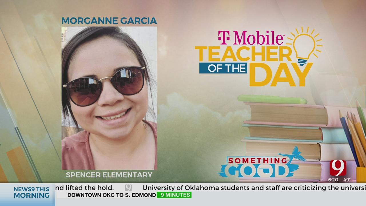 Teacher Of The Day: Morganne Garcia