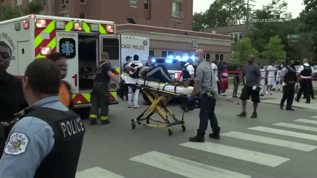 15 People Wounded In Shooting At Chicago Funeral Home