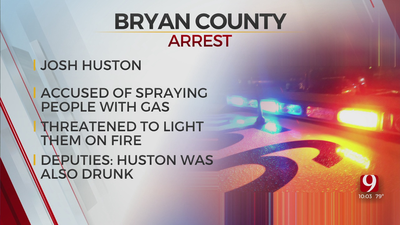 Bryan County Man Arrested For Alleged Arson Threats