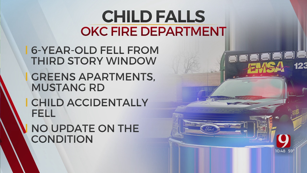 6-Year-Old Falls From Window, Rushed To Metro Hospital