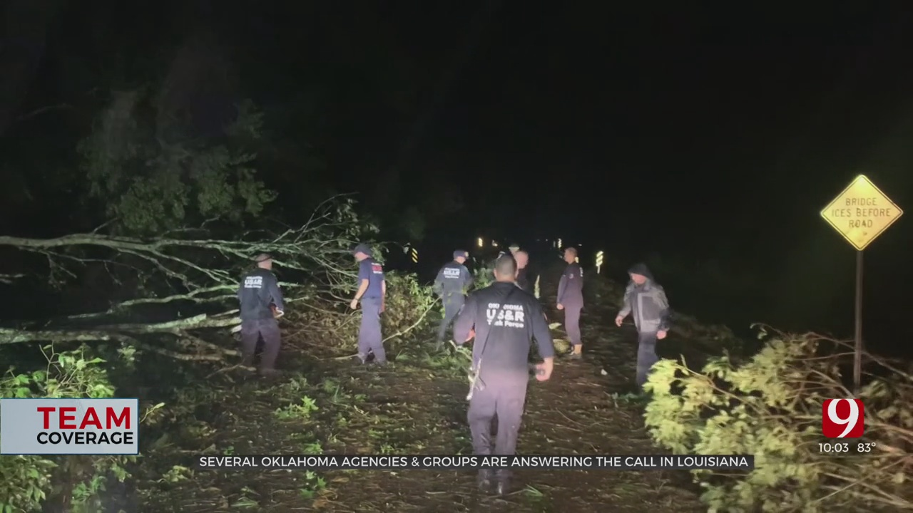 Several Oklahoma Organizations Mobilize To Provide Relief After Hurricane Ida