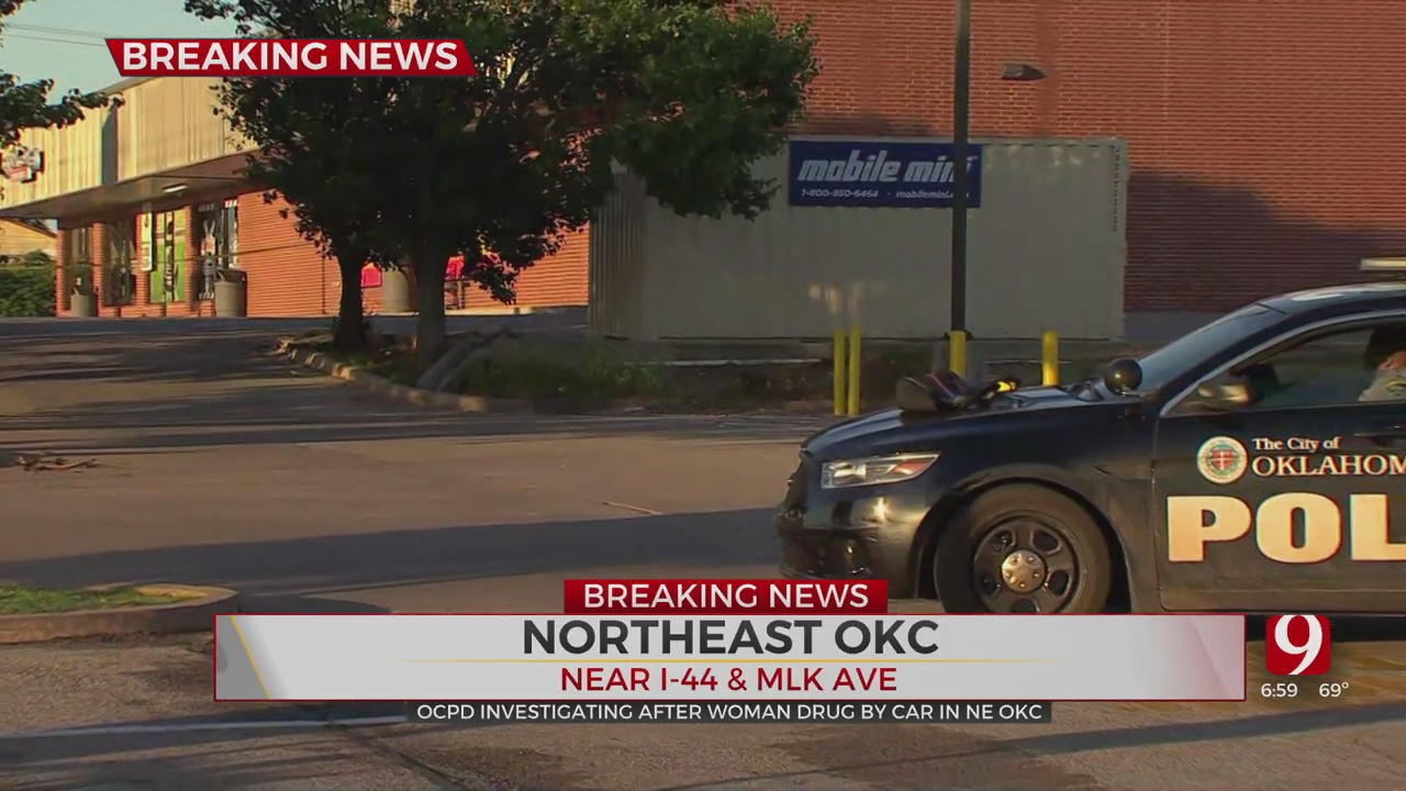 Police Investigate After Woman Was Found After Being Dragged By Vehicle In NE OKC