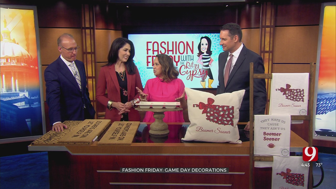 Fashion Friday: Game Day Decorations