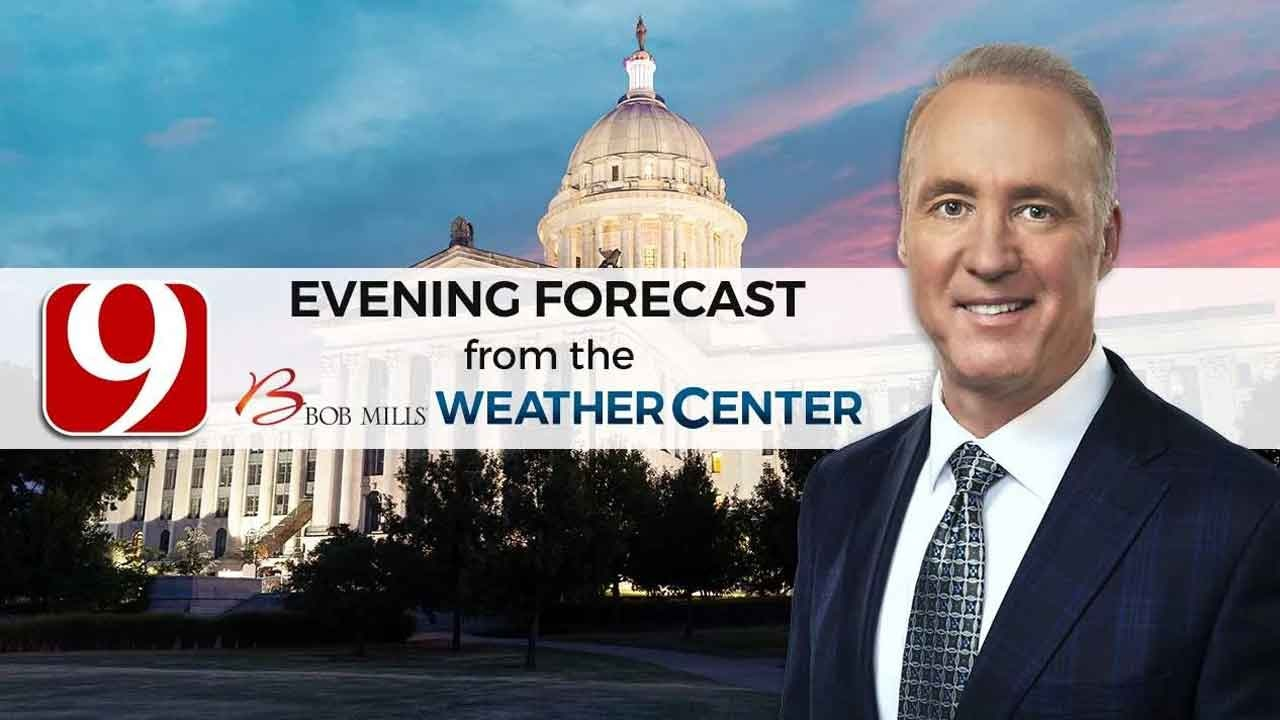 WATCH: News 9 Chief Meteorolgist David Payne's Sunday Evening Forecast