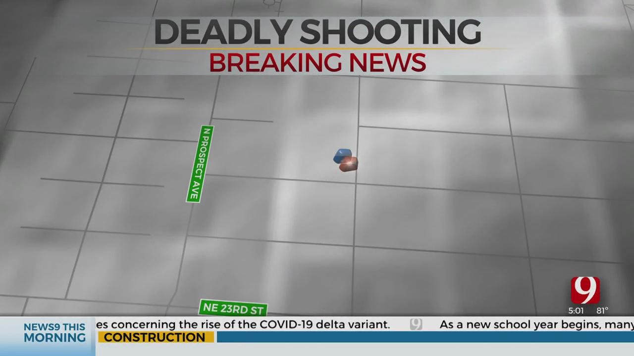OKCPD Finds Person Dead In NE OKC