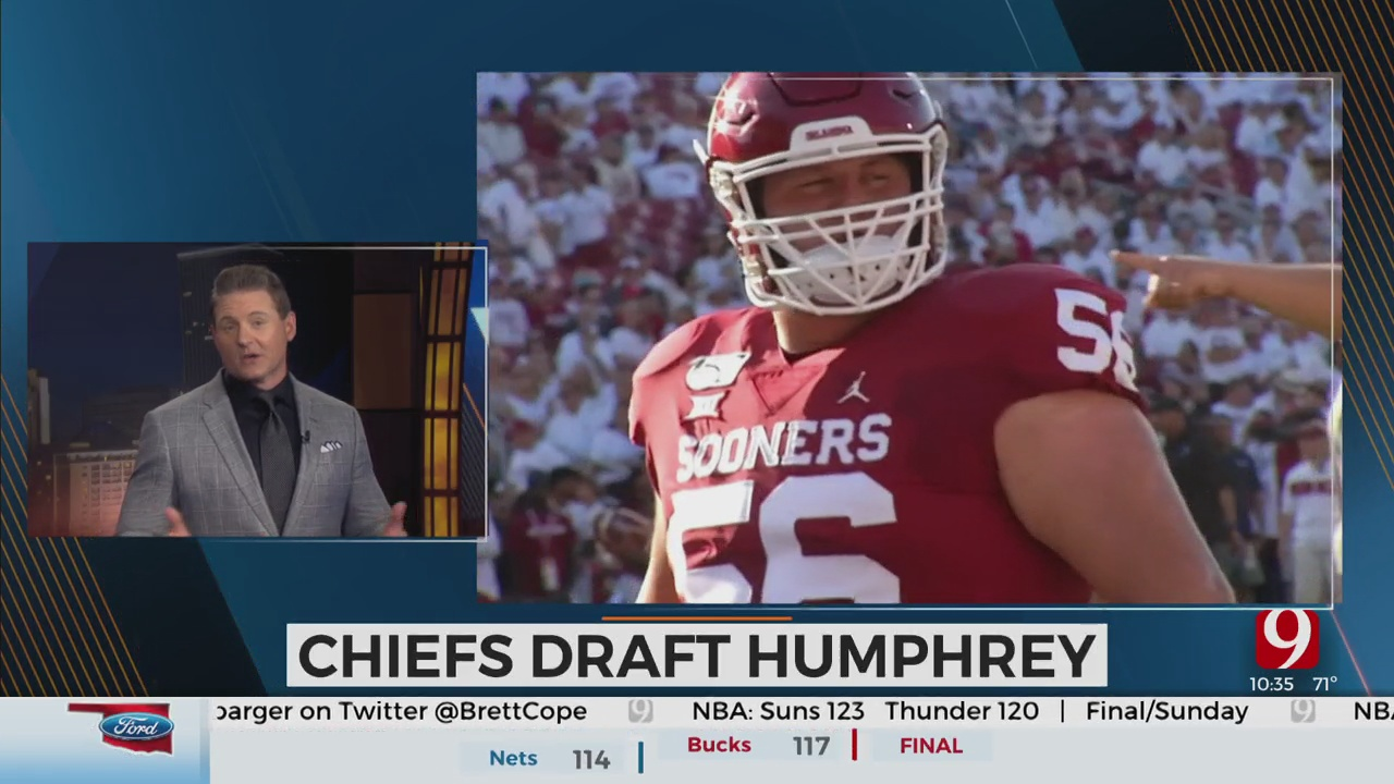 OU's Creed Humphrey Finds Perfect Fit With Kansas City Chiefs