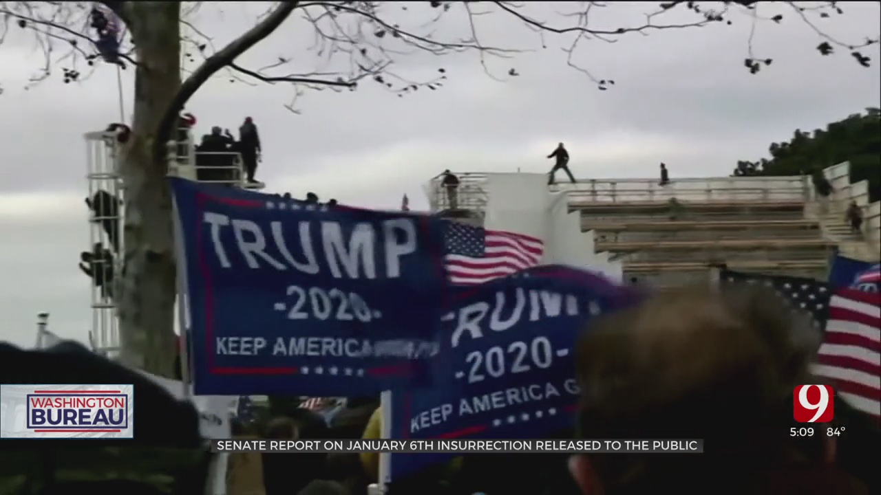 Senate Report On Jan. 6 Insurrection Released To The Public