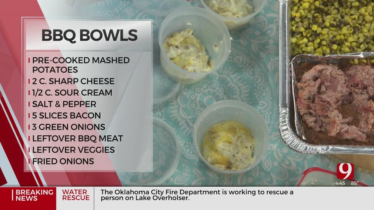 Leftover BBQ Bowls
