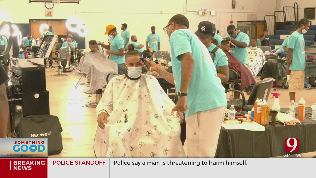 40 Local Barbers, 15 Hairstylists Come Together To Uplift Kids