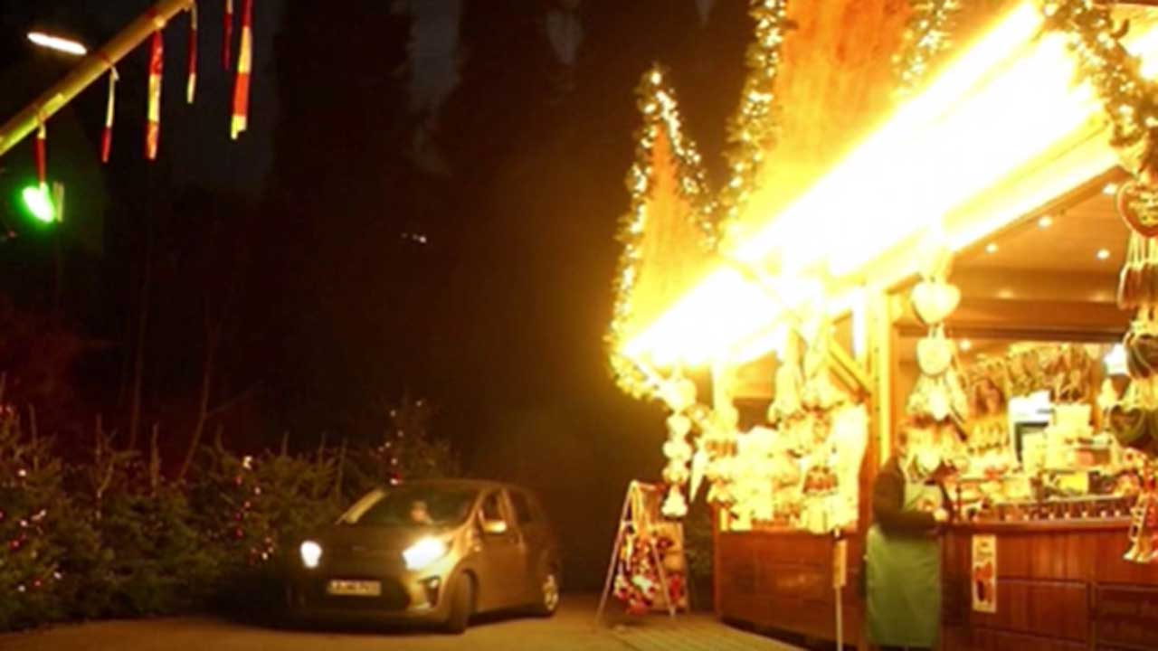 German Town Recreate Christmas Market With COVID-19 Pandemic Twist