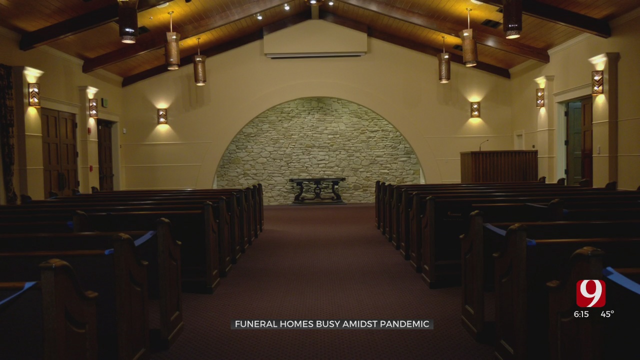 Local Funeral Home Adjusts To Impact Of COVID-19
