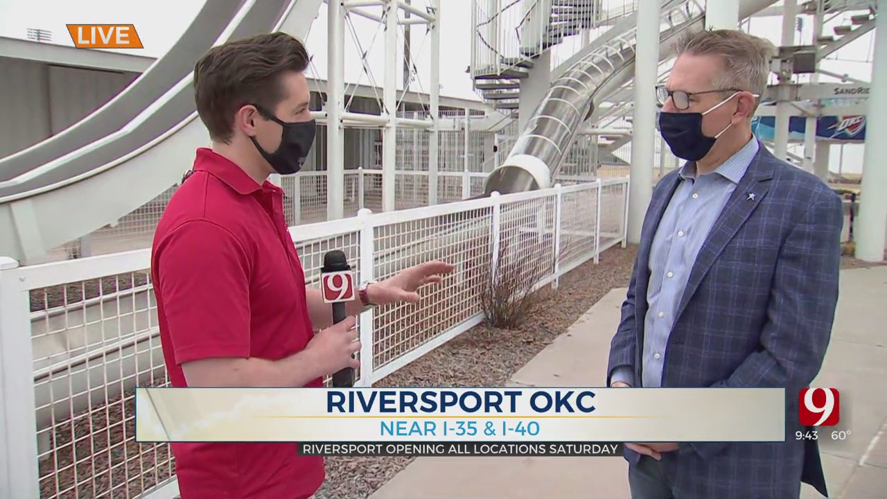 WATCH: Riversport OKC To Reopen All Locations Over Weekend