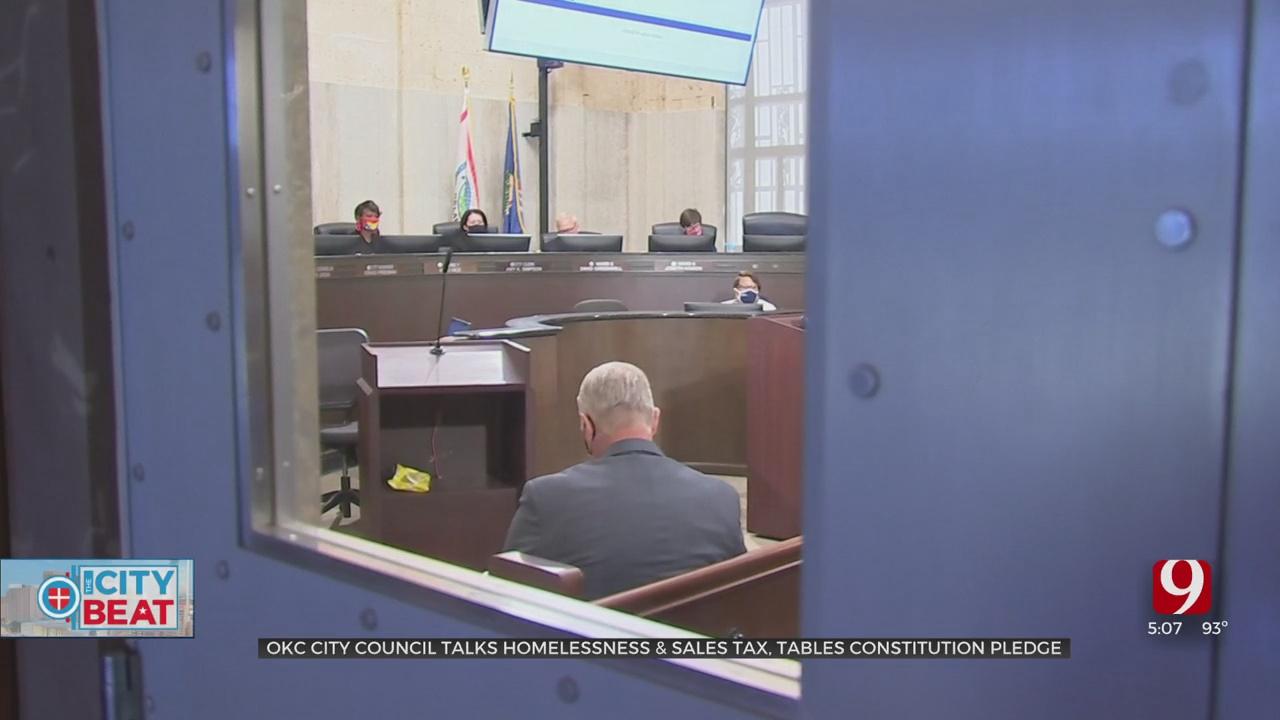 OKC City Council Talks Homelessness, Sales Tax & Tables Constitution Pledge