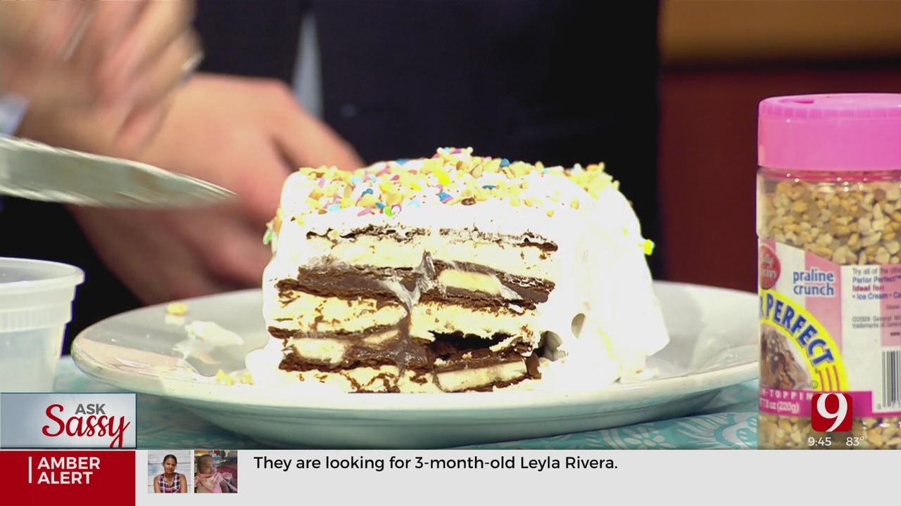 Ask Sassy: Ice Cream Sandwich Cake
