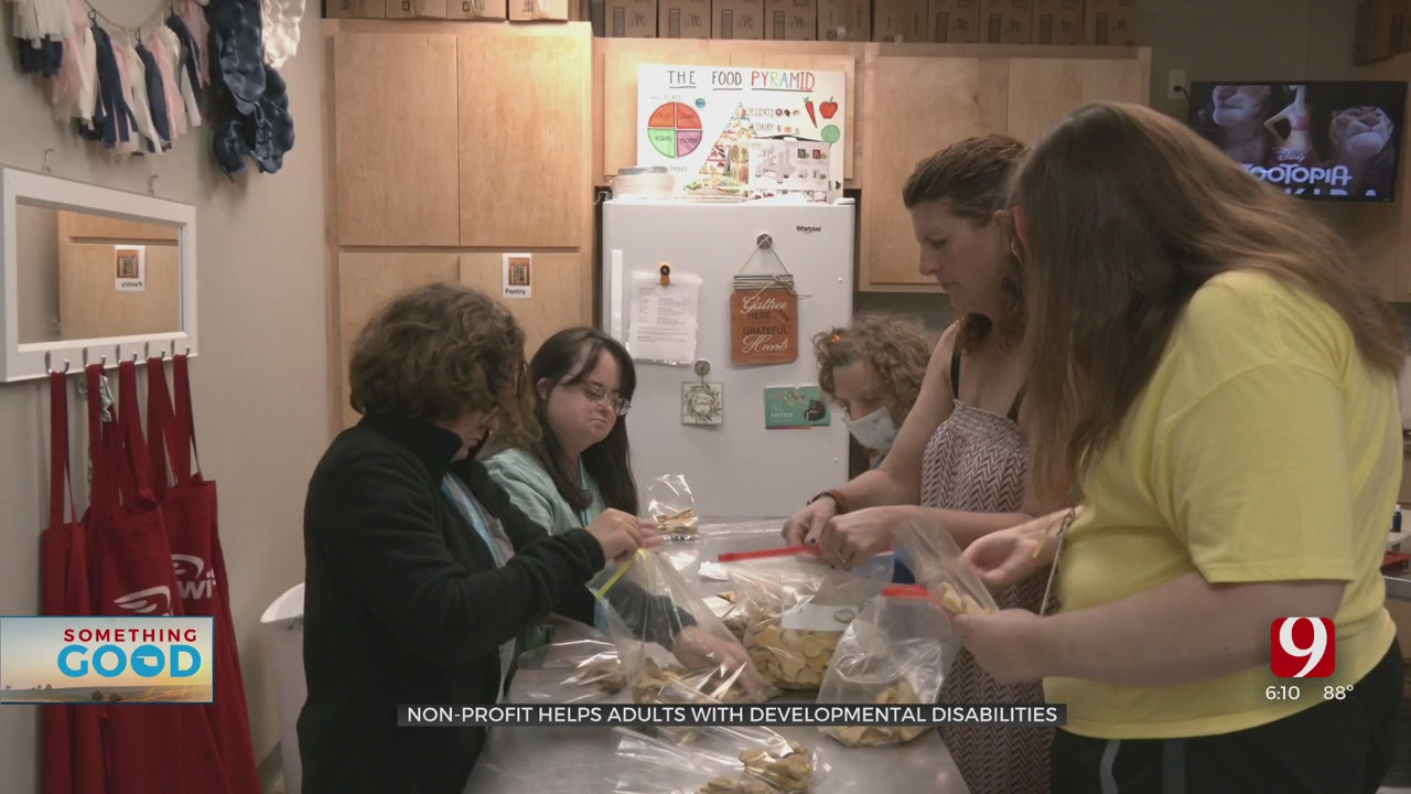 Local Nonprofit, Wings OK, Providing Valuable Life Skills For Adults with Developmental Disabilities