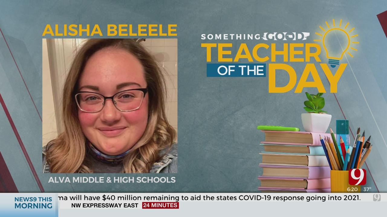 Teacher Of The Day: Alisha Beleele