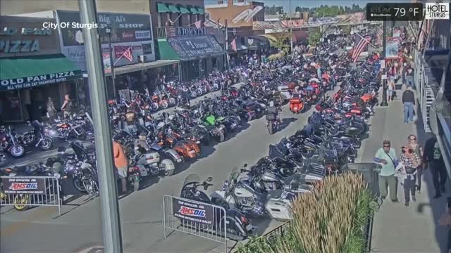 84 Arrests, 226 Citations, 18 Crashes Reported In 24 Hours At Massive Motorcycle Rally In South Dakota